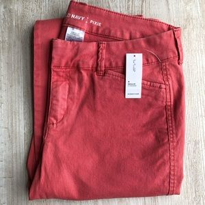 Old Navy Pixie Chino Ankle Pants